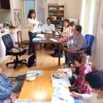 市内でミニ県政報告会