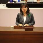 臨時議会で討論のため登壇