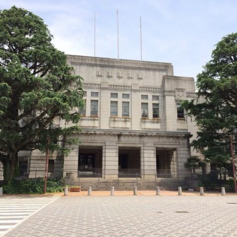 旧県庁舎正面2