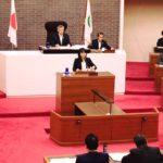 今日から9月県議会が開会