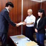 予算編要望書を岐阜県に提出しました