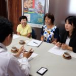 関ケ原ビジターセンター建設についての要望が県に提出されました
