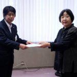 新日本婦人の会から「日本政府に核兵器禁止条約の調印を求める意見書提出を求める請願」