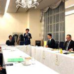 全岐阜県生活協同組合連合会の理事会の懇談会へ
