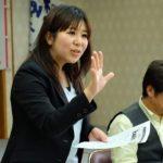 岩野田北公民館で県政報告勝