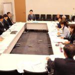 東京で防衛省と懇談