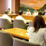 民医連の皆さんと県との懇談会に参加