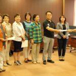 県内市町村議員と国民健康保険の要望を提出