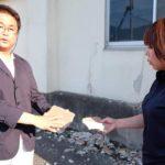 長良にある旧県営住宅の老朽化が問題