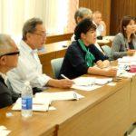 本村伸子衆議が7月豪雨被害の状況などを県から聞き取り