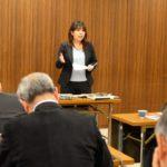 12月議会質問を終え、傍聴者との懇談
