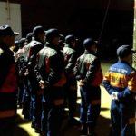 消防団の年末特別夜警が開始