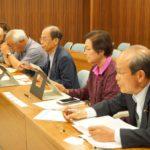 リニア新幹線工事の地上崩落事故について県へ申し入れ