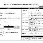 【岐阜県コロナウイルス感染拡大防止協力金について】※対象要件の床面積は削除されました