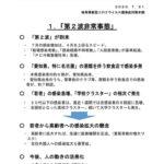 岐阜県、第2波非常事態に対する「緊急対策」の発表。 7月31日