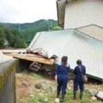 昨日は朝から夜にかけて県内の災害現場へ。