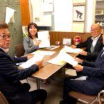 9月議会、岐阜県腎臓病協議会のみなさんから陳情。9月10日午後。