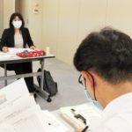 岐阜県保険医協会と懇談。9月18日。