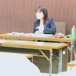 岐阜県議会傍聴者の皆さんと懇談。10月2日昼。