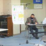 市政、県政報告会。岐阜市西部コミセン、11月28日午前。