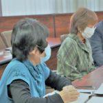 介護に携わる、ぎふ市民協の皆さんの面談。12月23日、午前。