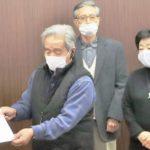 県民が主人公の県政をつくる会、岐阜県商工団体連合会が緊急要望を提出。12月23日午前。
