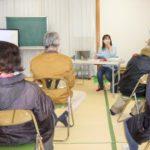岐阜市長森の皆さんと県政を語り合う。12月12日,午後。